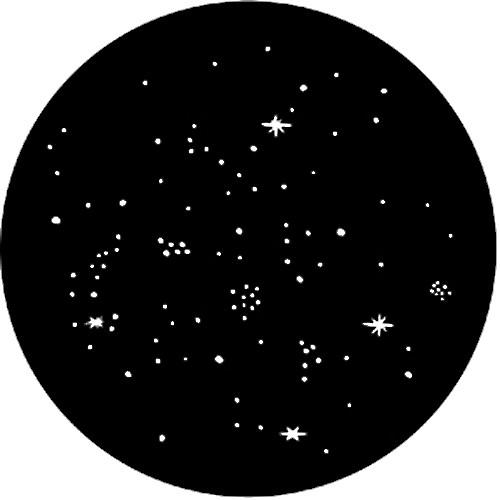 Rosco Steel Gobo #77514 - Star Cluster - Size B