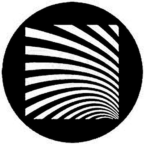 Rosco Standard Steel Gobo #7520 - Geometrics 6