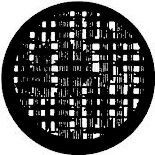 Rosco Steel Gobo #7524 - Squares (M Size: 66mm)