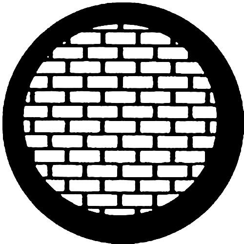 Rosco Standard Steel Gobo #7527 - Bricks