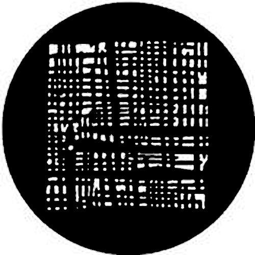Rosco Steel Gobo #7530 - Threads