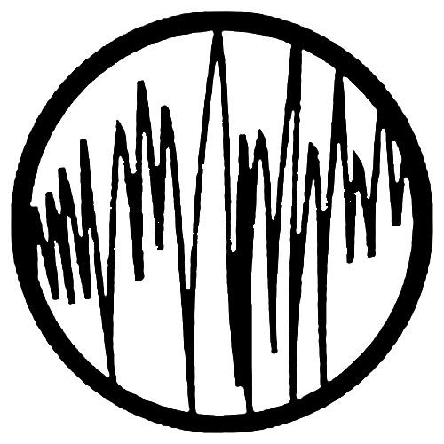 Rosco Steel Gobo #7536 - Radiowave - Size E