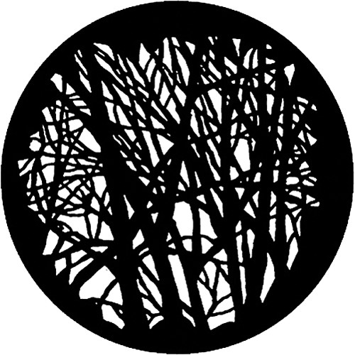 Rosco Standard Steel Gobo #7549 - Branches 1 - Size A 100mm