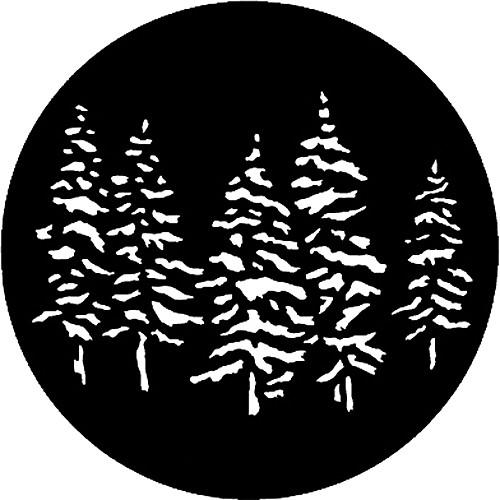 Rosco Steel Gobo #7551 - Pines - Size B