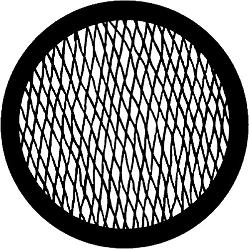 Rosco Steel Gobo #7623 - Wire - Size A