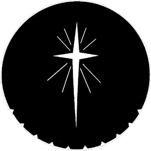 Rosco Steel Gobo #7707 - Star of Bethlehem - Size E