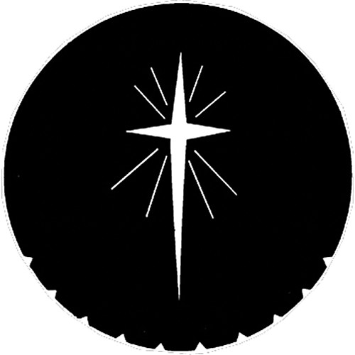 Rosco Steel Gobo #7707 - Star of Bethlehem - Size M