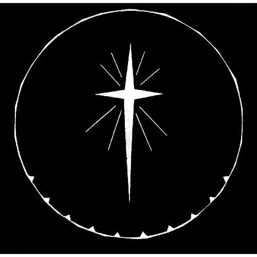 Rosco Steel Gobo #7707 - Star of Bethlehem - Size A