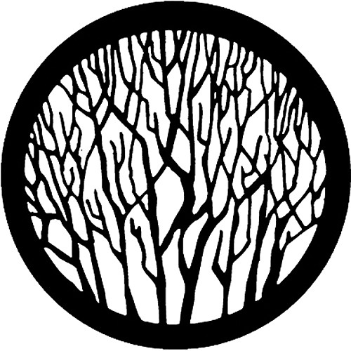 Rosco Standard Steel Gobo #7735 - Bare Branches - Size B 86mm