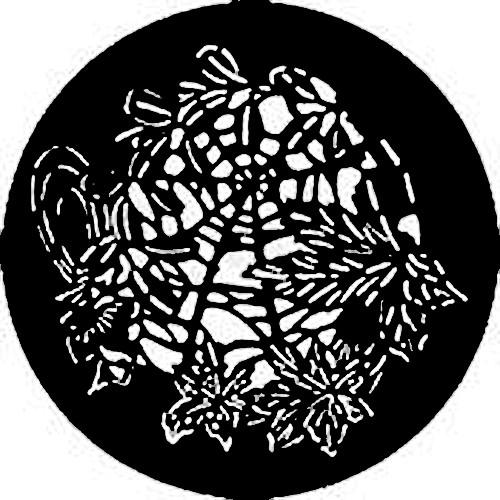 Rosco Standard Steel Gobo #7736 - Butterfly Web