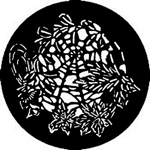 Rosco Steel Gobo #7736 - Butterfly Web