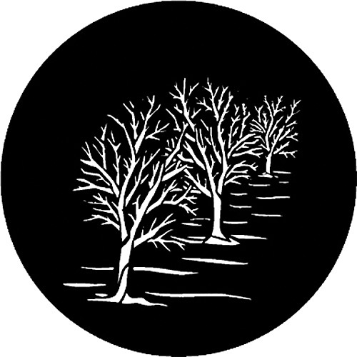 Rosco Standard Steel Gobo #7744 - Three Trees - Size M 66mm