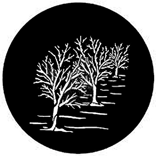 Rosco Steel Gobo #7744 - Three Trees - Size A