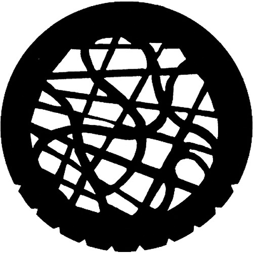 Rosco Standard Steel Gobo #7747 - Tangle - Size B 86mm