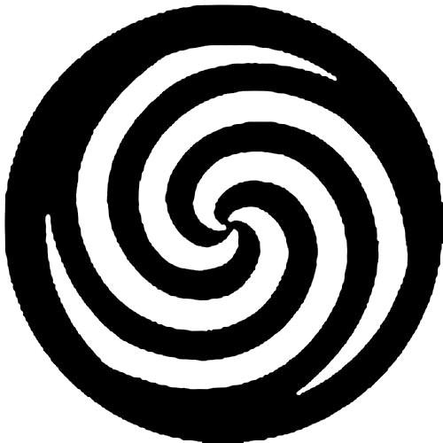 Rosco Steel Gobo #77761 - Spiral - Size D