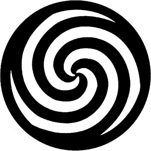 Rosco Steel Gobo #7761 - Spiral - Size B