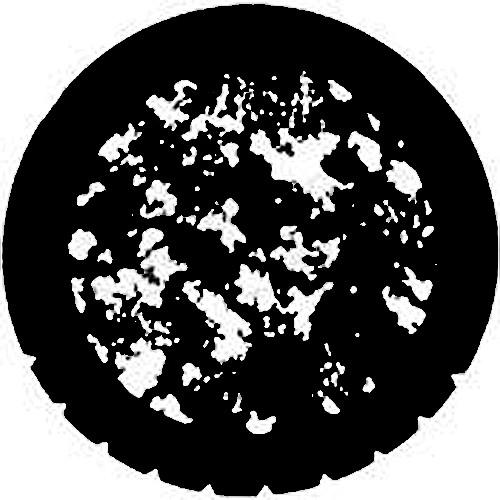 Rosco Steel Gobo #7764 - Amorphous - Size A