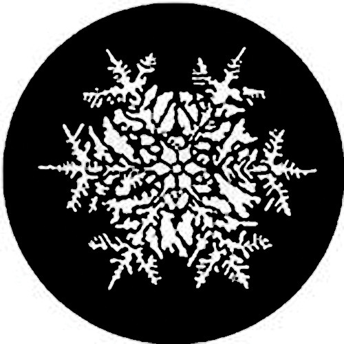 Rosco Steel Gobo #7771 - Snowflake