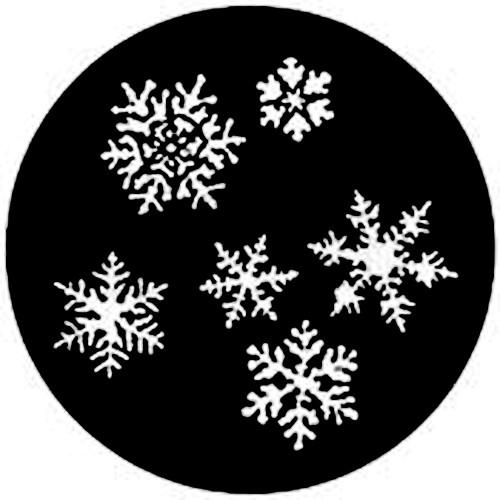 Rosco Steel Gobo #7772 - Snowflakes - Size A