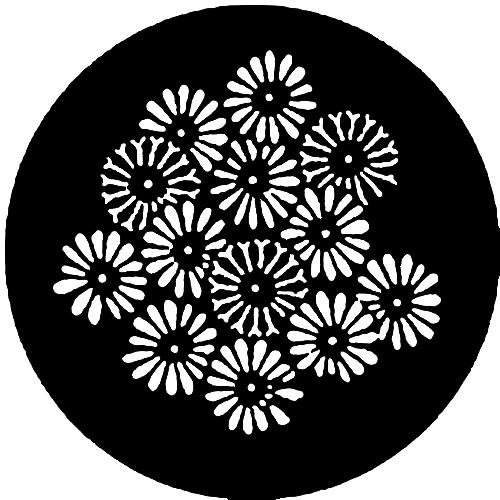 Rosco Steel Gobo #7773 - Flowers