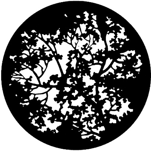 Rosco Standard Steel Gobo #7774 - Blossoms - Size A 100mm