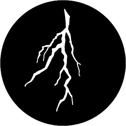 Rosco Steel Gobo #7776 - Lightning Branch - Size M