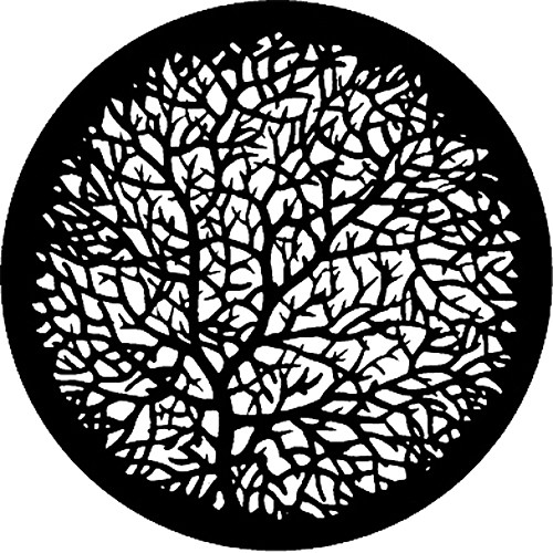 Rosco Standard Steel Gobo #7777 - Bare Branches 2 - Size M 66mm