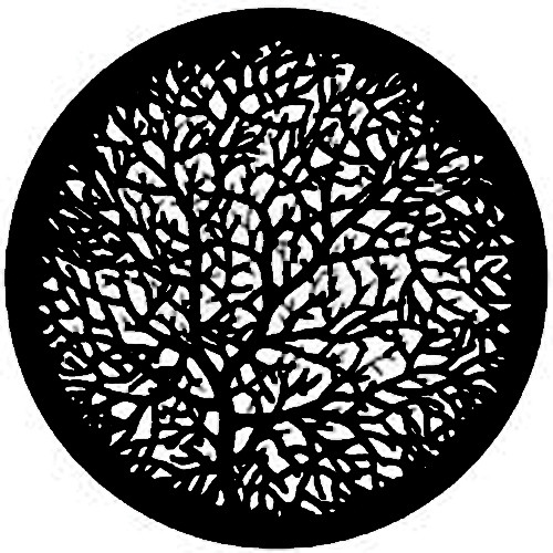 Rosco Standard Steel Gobo #7777 - Bare Branches 2 - Size A 100mm