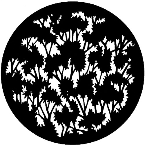 Rosco Steel Gobo #7779 - Foliage (Medium) - Size E