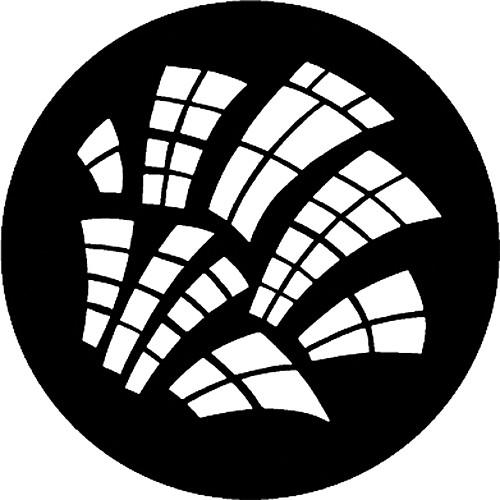 Rosco Steel Gobo #7792 - Runyon Windows - Size M