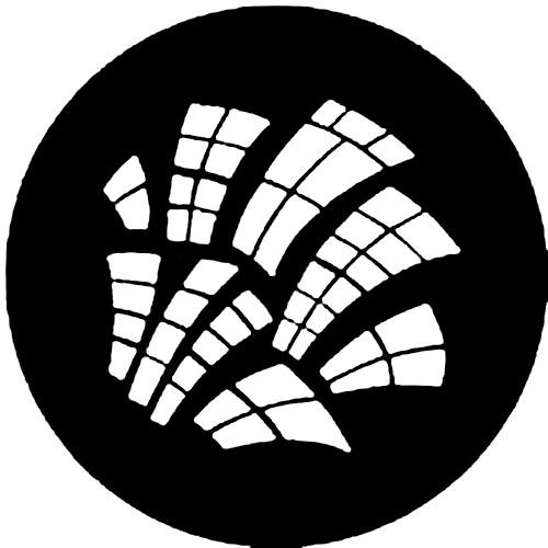 Rosco Steel Gobo #7792 - Runyon Windows - Size A