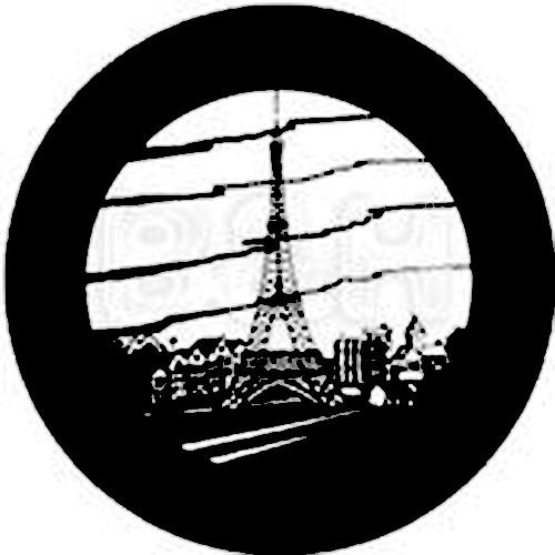 Rosco Steel Gobo #7820 - Paris