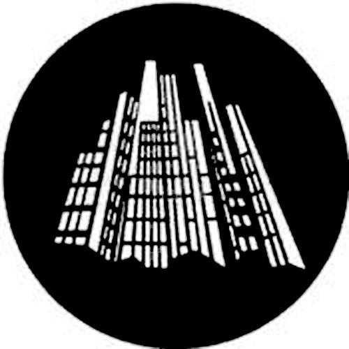 Rosco Steel Gobo #7823 - Nightlights 2