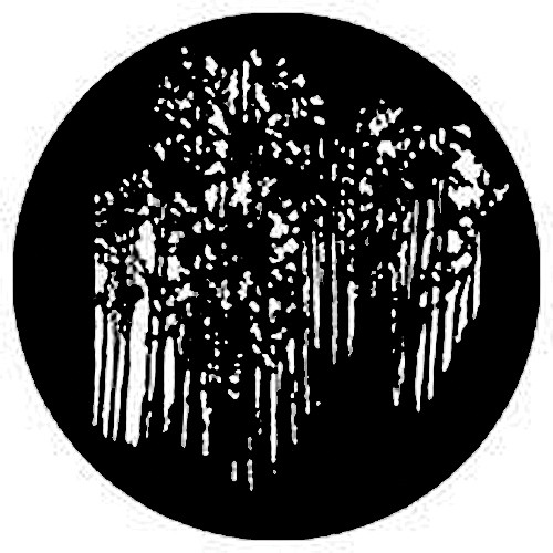 Rosco Standard Steel Gobo #7841 - Forest