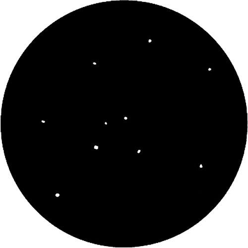 Rosco Steel Gobo #7851 - Realistic Stars - Size E
