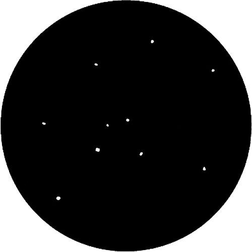 Rosco Steel Gobo #7851 - Realistic Stars - Size B