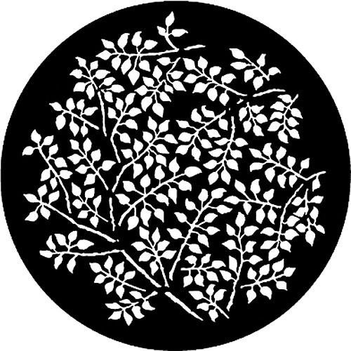 Rosco Standard Steel Gobo #7864 - Branching Leaves - Size E 37.5mm