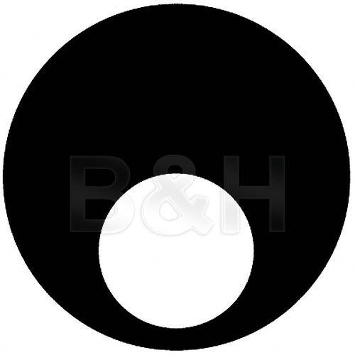 """Rosco Steel Gobo #7961 - Rising """"Saigon"""" Sun - Size E"""