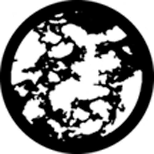 Rosco Standard Steel Gobo #78423B Stamp Breakup (B = Size 86mm)