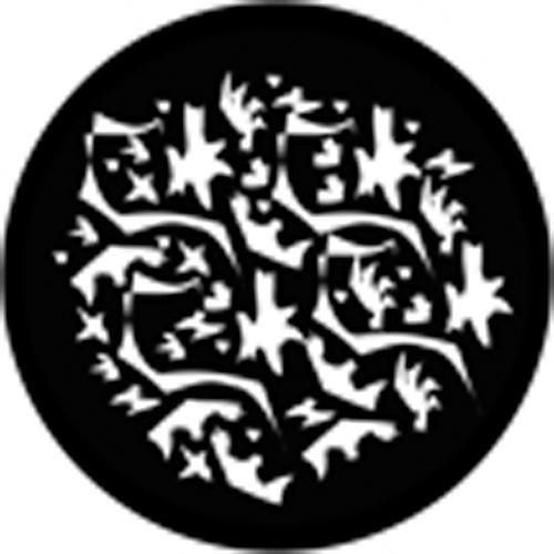 Rosco Standard Steel Gobo #78425B Matisse Breakup (B = Size 86mm)