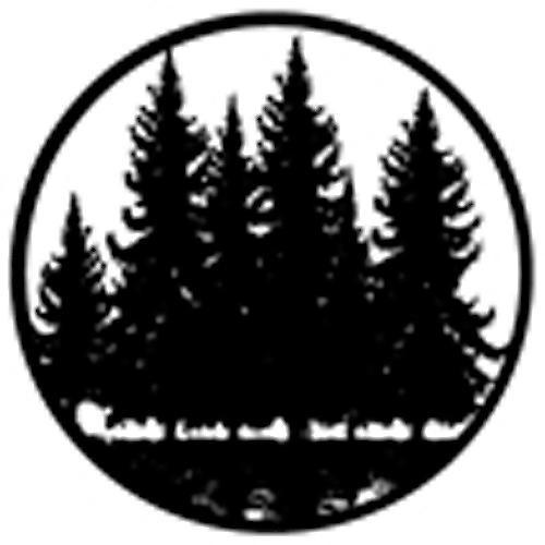 Rosco Standard Steel Gobo #78434B Tree Silhouette 3 (B = Size 86mm)