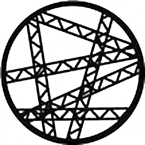Rosco Standard Steel Gobo #78464B Truss Jumble (B = Size 86mm)