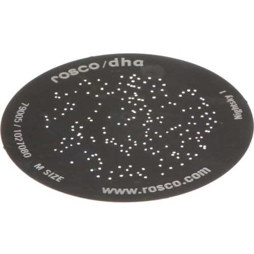 Rosco Nightsky Standard Steel Gobo 79005 Size (M)