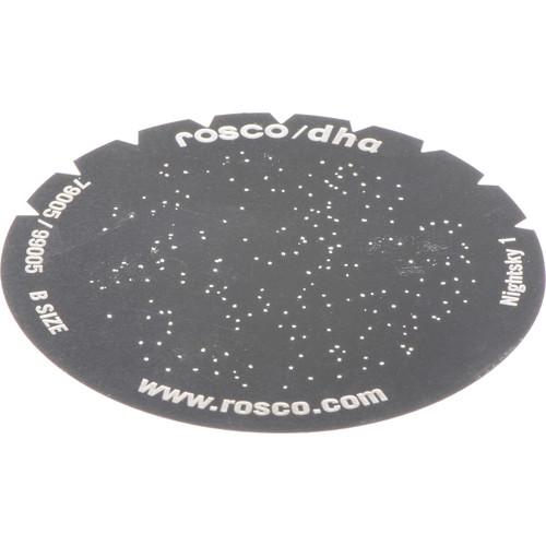 Rosco Nightsky Standard Steel Gobo 79005 Size (B)
