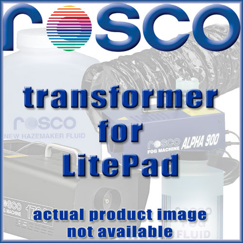 "Rosco Transformer for 3x3"", 3x6"", 6x6"" LitePads (120VAC)"