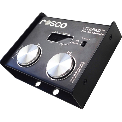 Rosco Two Channel DMX Dimmer for LitePad
