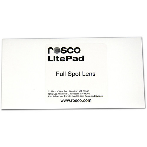 "Rosco Full Spot Lens for LitePad (6 x 6"")"