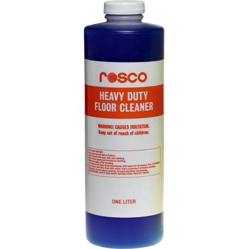 Rosco Heavy Duty Liquid Floor Cleanser, Stripper - 1 Liter