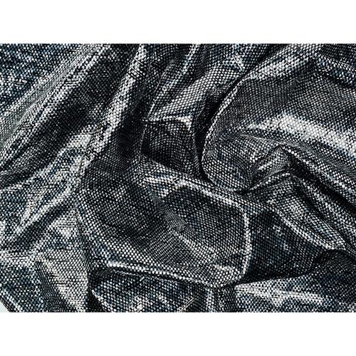 "Rosco Showcloth - 47""x 330' Bolt - Black/Silver"