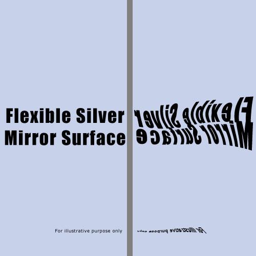 "Rosco Mirror - 48""x 30' Roll - Flexible Silver"